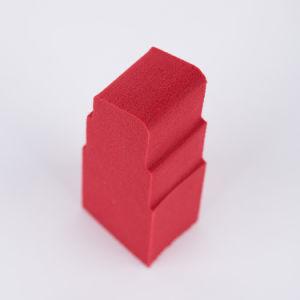 2018 spugne cosmetiche del miscelatore di trucco di figura del rossetto di alta qualità