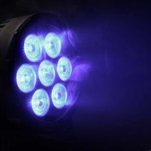 Indoor Mini 7X10W 4en1 PAR LED de luz para la iluminación de escenarios