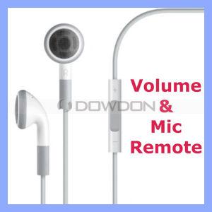 Kopfhörer für iPhone 4 iPad 4s iPod mit Mic Remote und Volume Control Headset Headphone