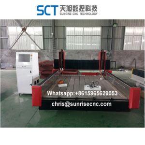 2030 Máquinas fresadora CNC de pedra Grande Estrutura Sunrise Brand