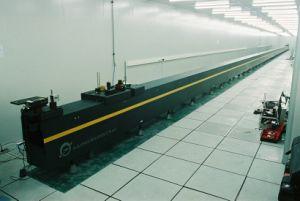 Dispositivo de medição de linha de comprimento extra com granito Guideways