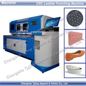 Correia da Sapata de Bolsas Automático CNC Couro Máquina de perfuração