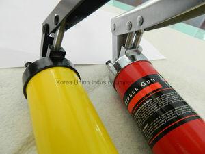 ingrassatore a siringa manuale della protezione capa in lega di zinco 600cc