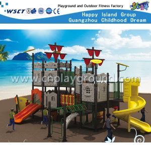Parque Infantil Exterior Venda quente barato crianças Playsets HD-Tsn004