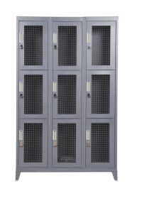 Kast de Van uitstekende kwaliteit van het Netwerk van het Staal van 9 Deur van het Gebruik van de militair