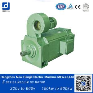 660V 1000rpm, IC06 eléctrico motor DC de la clase F