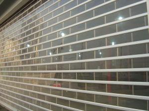 Alta qualidade de porta de giro transparente