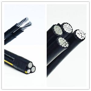 cavo di alluminio XLPE dell'isolamento standard di 0.6/1kv ASTM per la riga di trasmissione ambientale