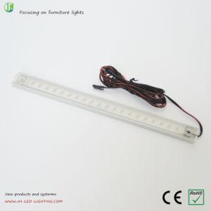 Perfil de alumínio 12V DC para armário de luz de LED, mobiliário