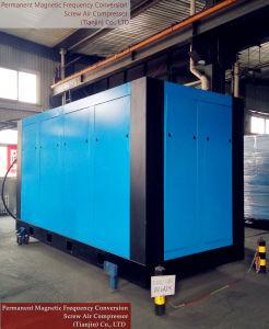 Compressore d'aria rotativo della vite di modo di raffreddamento ad acqua