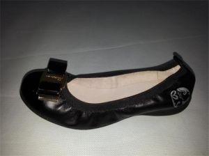 La Mens Ladys niños ocio calzado vulcanizado de lienzo de cuero PU