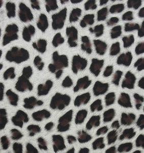 Leopard Print PU couro