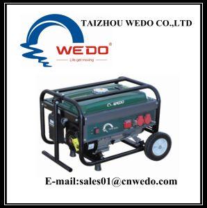 Wd2505-2 de draagbare Generator van de Benzine met Handvat & Wielen