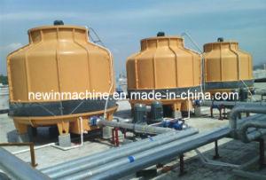 150トンFRPの丸型のカウンターの流れ水冷却塔