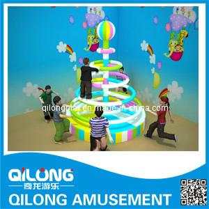 Los elementos eléctricos de juegos de patio interior (QL-3016N)