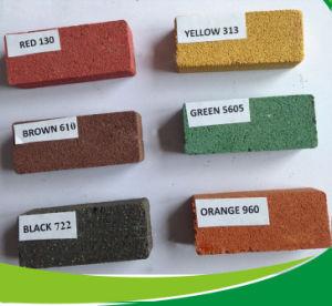 Oxyde de fer rouge 101 120 130 pour Finisseur de béton de briques
