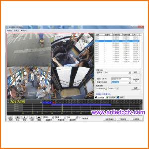 GPS追跡のWiFi 3G 4GのHD 1080P 4チャネル車移動式DVR