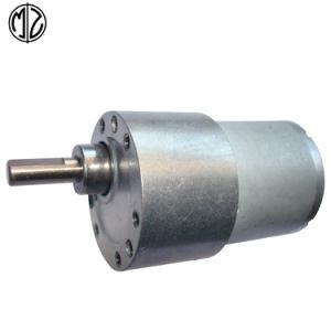 Engranaje recto de 37mm 12V DC Motor de alto par motor reductor de ruido bajo para el robot
