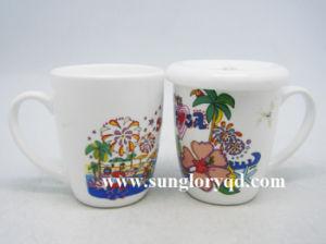 De Buik van de trommel versterkt de Mok van de Koffie van de Mok van het Porselein van Mkb023