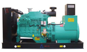 普及したCummins 50/60Hzの発電機セット(140kw/175kVA)