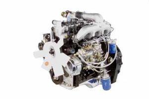 De Dieselmotor van Urbocharged