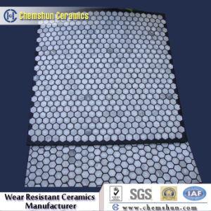 Comme de chemise de carreaux de céramique en caoutchouc résistant à l'usure des garnitures de goulotte fabricant