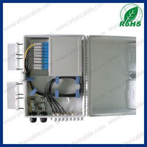 Fdb 16fibers PC/ABS Material Indoor Outdoor Optical Fiber Termination Box