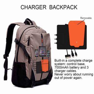 Nuevo concepto de mochilas con batería integrada de todos los smartphones