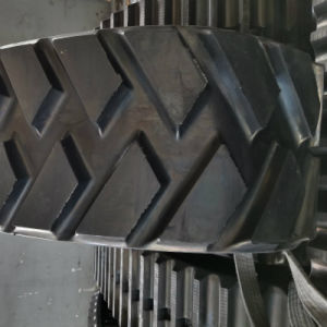 De zwarte Pasvorm van de Sporen 460*225*36 van de Betonmolen Rubber voor Beroemd Merk Ingersollrand