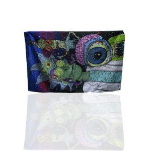 Ткань/полиэстер/виниловая пленка ПВХ сетки ограждения баннер Flex (TJ-RSH-1)