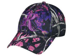 Rosa de alta calidad Camouflague Deportes gorras de béisbol