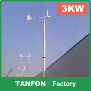 5kw fuori dal sistema della turbina di vento di griglia per la casa