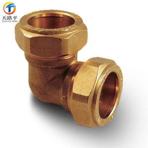 Extension de tuyau en laiton tétine personnalisé pour compteur de gaz