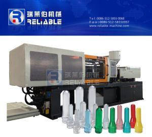 La pequeña máquina de moldeo por inyección de plástico para la producción de preformas y botellas Tapón de botella