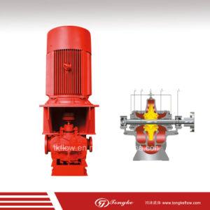 De verticale Gespleten CentrifugaalPomp van het Omhulsel met Motor voor Brandbestrijding