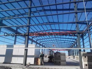 Edificio de almacenamiento de la estructura de acero