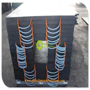 De Op zwaar werk berekende HDPE Plastic Vrachtwagen Opgezette Fabrikant van uitstekende kwaliteit van de Stootkussens van Kranen UHMWPE