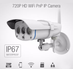 Drahtloses Gewehrkugel-Sicherheits-Netz-wasserdichte Kamera IR-im Freien IP-CMOS