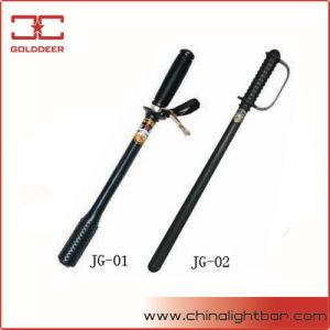 Selbstschutz-Produkt-Polizei-Gummisteuerknüppel-Taktstöcke (JG-01)