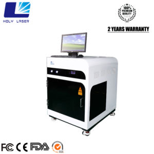 machine intérieure de cristal de gravure de laser d'intérieur de modèle de la photo 3D