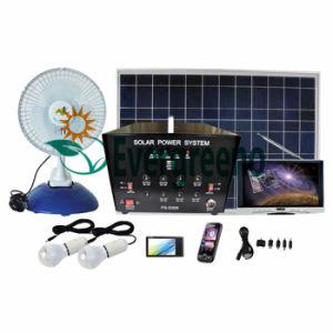 Fuera de la red Kits solar portátil para el hogar en la India