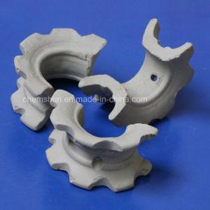 Selas super cerâmicas da fonte da produção para torre de secagem de ácido sulfúrico