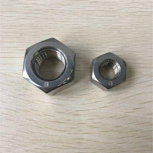 Écrou hexagonal en acier inoxydable avec la norme DIN934