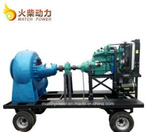 Venta caliente doble aspiración móviles bomba de agua de Diesel con motor Diesel de 90kw Weichai