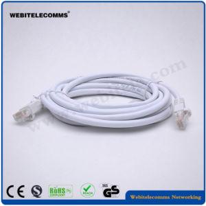 UTP CAT6 cable de conexión de red con revestimiento de PVC