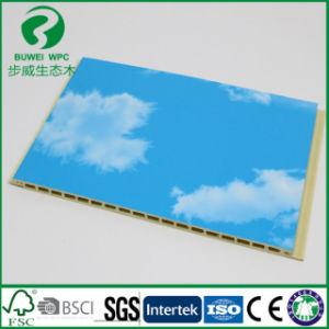 Le moins cher le bois de panneaux muraux en plastique de l'usine Direct