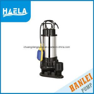 En acier inoxydable de haute qualité des eaux usées submersible électrique de la pompe (V750)