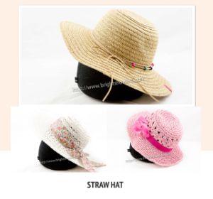 De façon tropicale Mesdames Fedora Chapeau de paille pour l'été