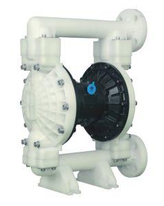Rd 1-1/2 plein de traitement des eaux de la pompe pneumatique en plastique