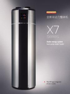 Energiesparende Warmwasserspeicher-Wärmepumpe